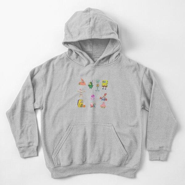 Paquete Bob Esponja Sudadera con capucha para niños