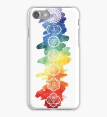 The 7 Chakras iPhone Case/Skin