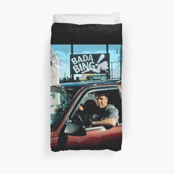 MEILLEUR VENDEUR - Bada Bing Tony Soprano Merchandise Housse de couette