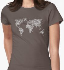 World of small balls  Womens Fitted T-Shirt