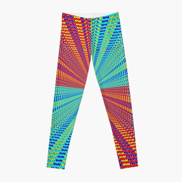 Rhombus, Squares, Op art, short for optical art, is a style of visual art that uses optical illusions Leggings
