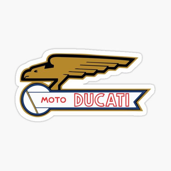 MEILLEUR VENDEUR Ducati Moto Vintage Merchandise Sticker
