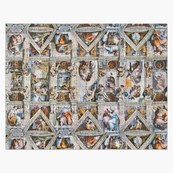 Michaelangelo - Sistine Chapel Ceiling Jigsaw Puzzle