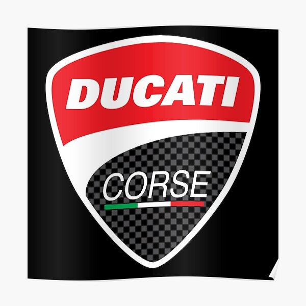 MEILLEUR VENDEUR Ducati Corse Merchandise Poster