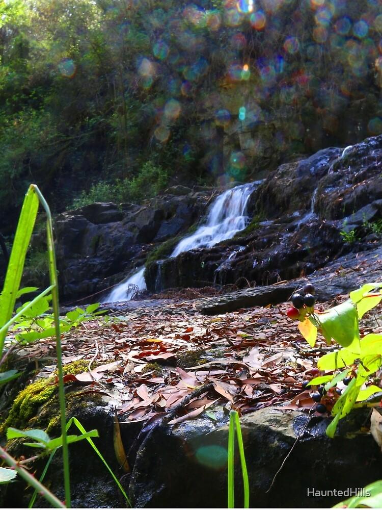 Turtons Creek Waterfall sparkles by HauntedHills