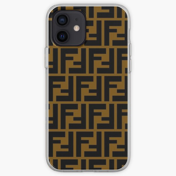 COLLAGE FENDI Coque souple iPhone