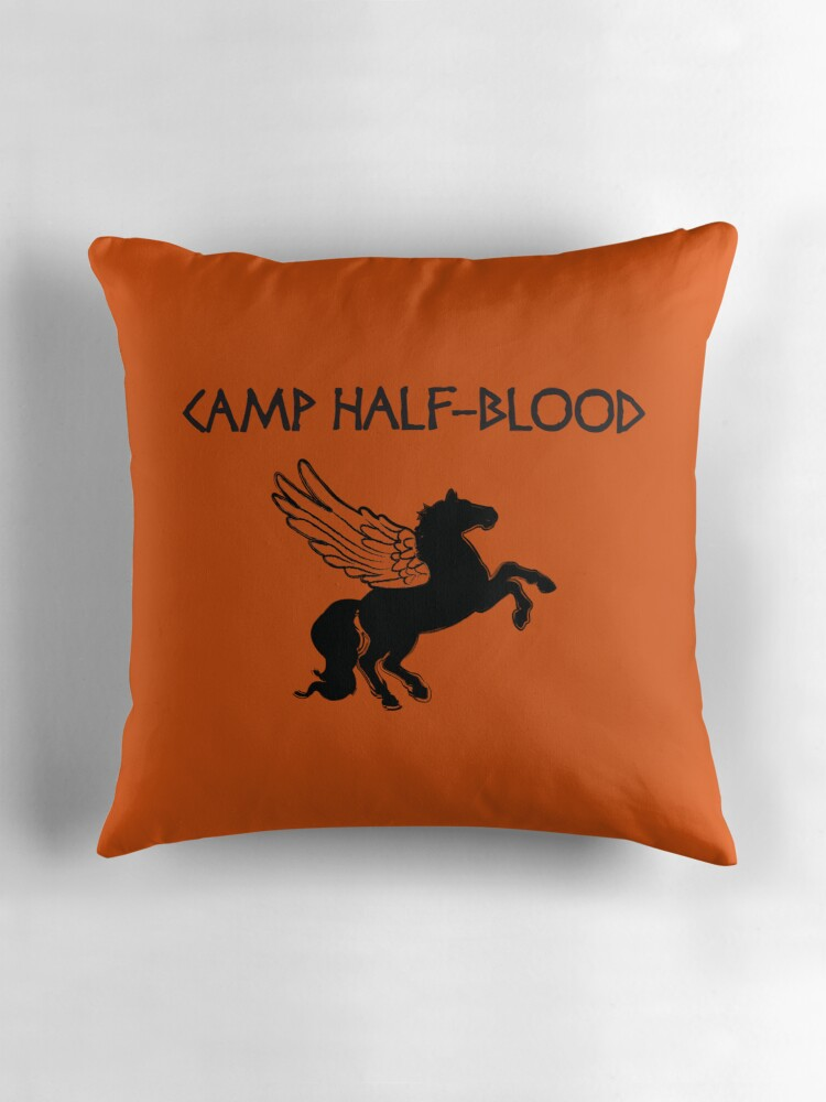 Quot Camp Half Blood Camp Shirt Quot Throw Pillows By Rachael