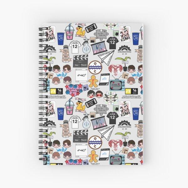 Impresión completa BL Cuaderno de espiral