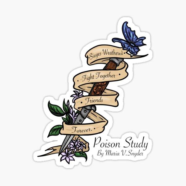 Original Poison Study Switchblade Quote Sticker