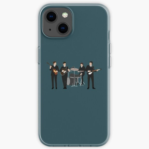 Beatle Vintage Line Up iPhone Soft Case