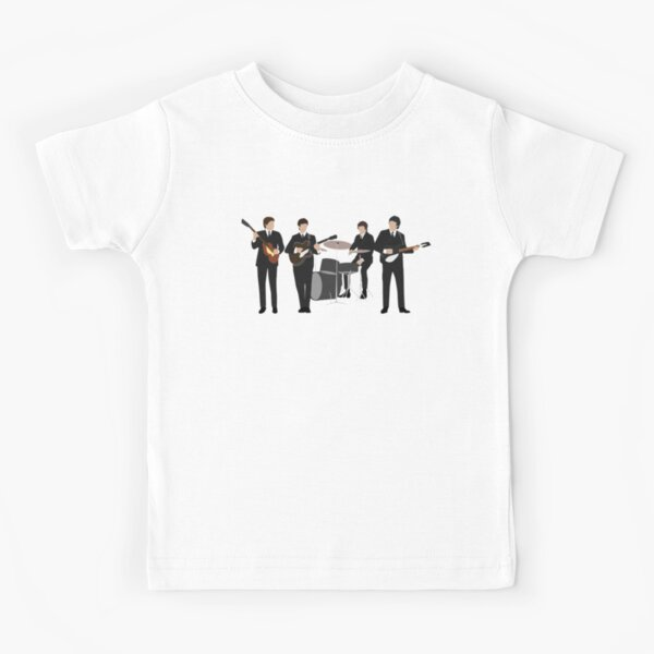 Beatle Vintage Line Up Kids T-Shirt