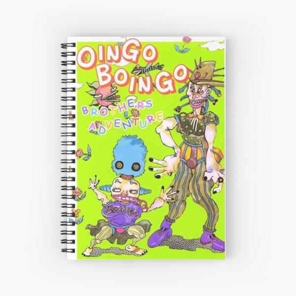 Oingo Boingo's Book! From Jojos Spiral Notebook