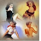 Sexy Pinup Collage by Delights