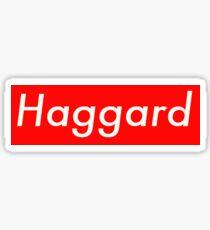 Haggard Preme Sticker