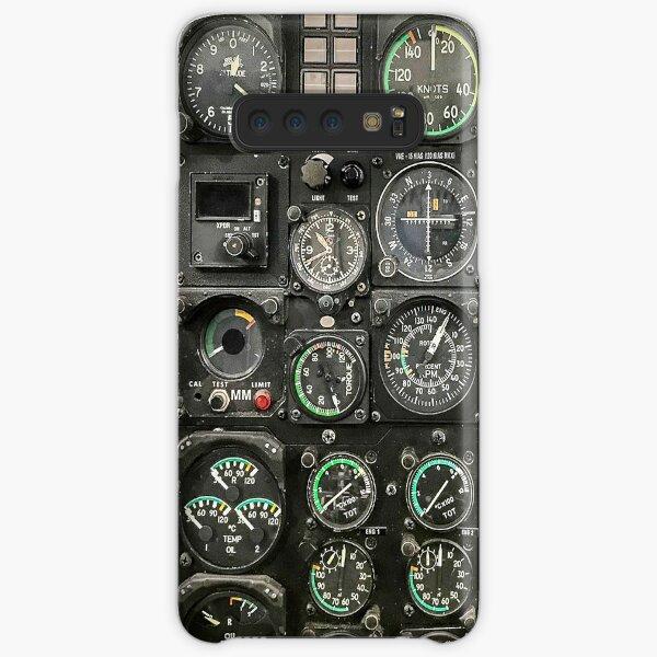 Aviation Helicopter cockpit Instrument Samsung Galaxy Snap Case