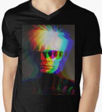 Pop Art Portrait Men's V-Neck T-Shirt
