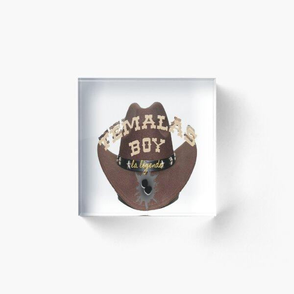 temalas boy Acrylic Block