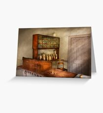 Pharmacy - The herbalist Greeting Card