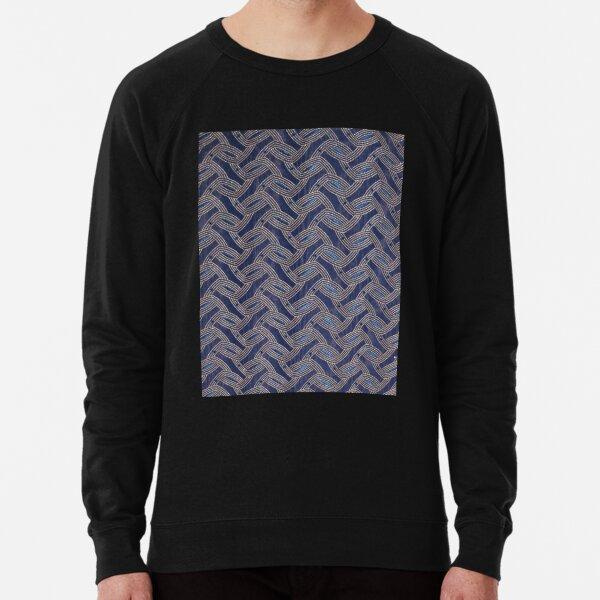 A Unique Weave Lightweight Sweatshirt