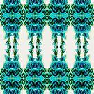 Aqua ink in water print by KissMyArt