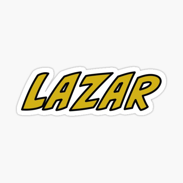 Lazarbeam Sticker