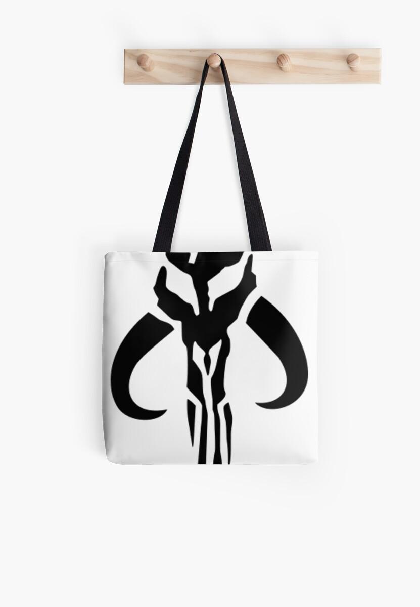 Star wars mandalorian bounty hunter symbol tote bags by spoons star wars mandalorian bounty hunter symbol by spoons mcgee buycottarizona Image collections