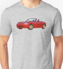 Oil painted Mazda Miata T-Shirt