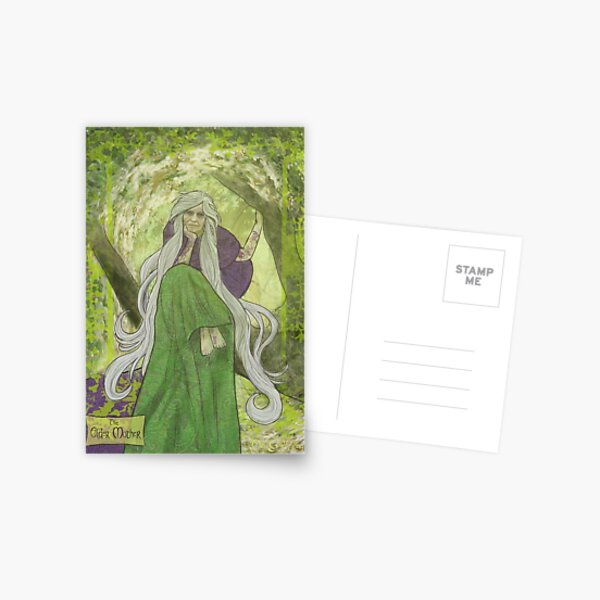 Celtic Goddess - The Elder Mother  Postcard