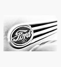Ford 85 in Black and White Photographic Print