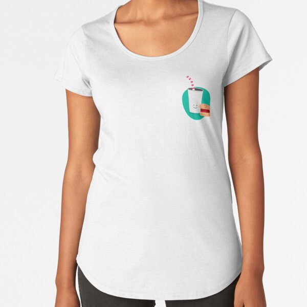 Eatery Illustration for Food outlets Premium Scoop T-Shirt