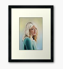 Gwen Stacy Framed Print