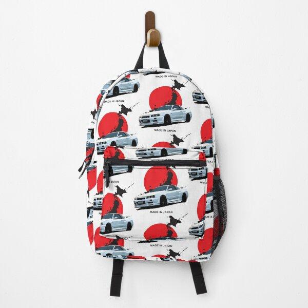 Skyline R34 GTR Japan Backpack