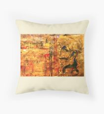 Made in the likeness of Him Throw Pillow