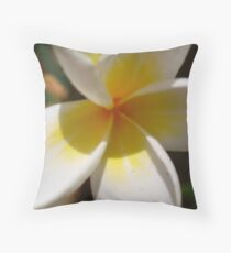 Frangipani #2 Throw Pillow