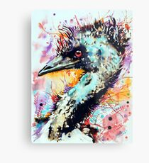 expressive emu Metal Print