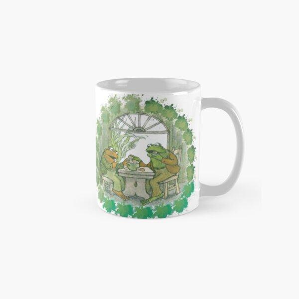 Frog and toad on table Classic Mug