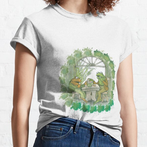 Frog and toad on table Classic T-Shirt