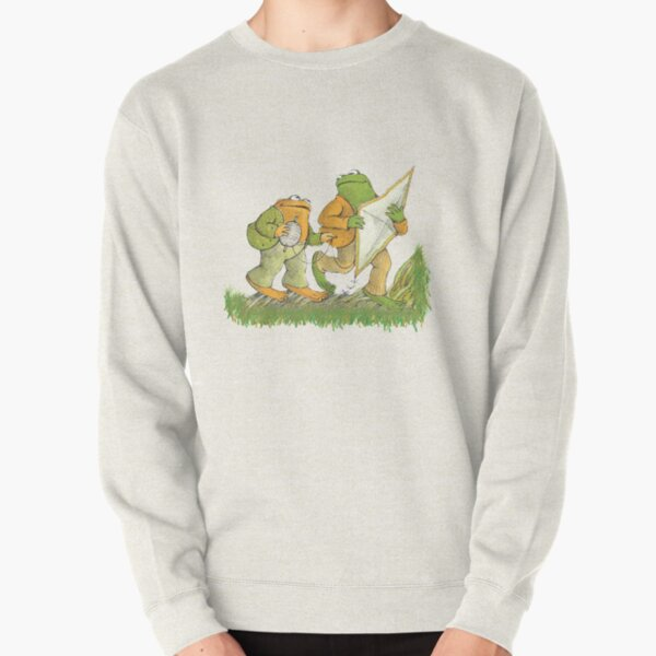 Frog and Toad are friends Pullover Sweatshirt