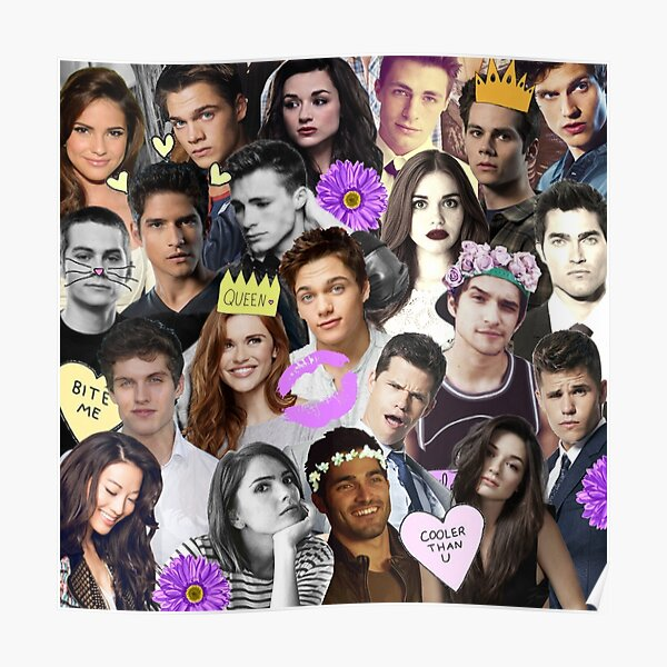 Teen Wolf Collage Poster