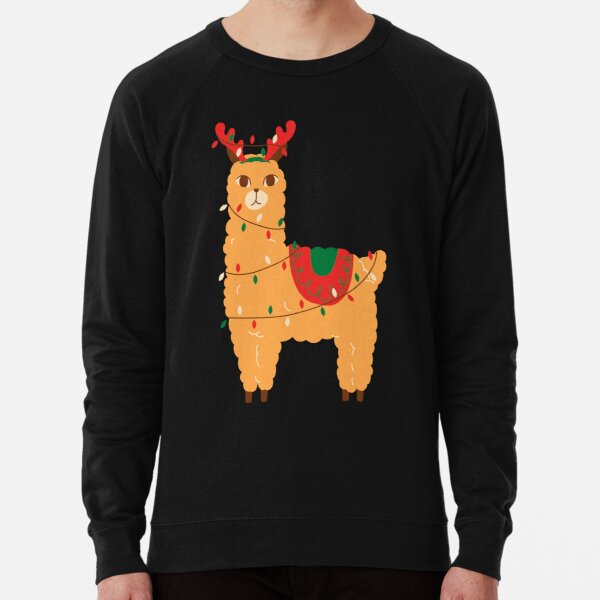 Cute Lama  Lightweight Sweatshirt