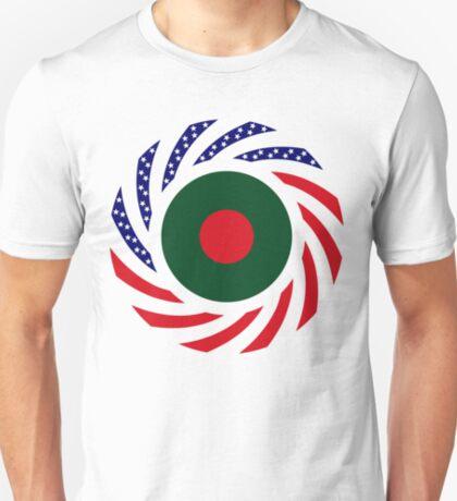 Bangladeshi American Multinational Patriot Flag T-Shirt