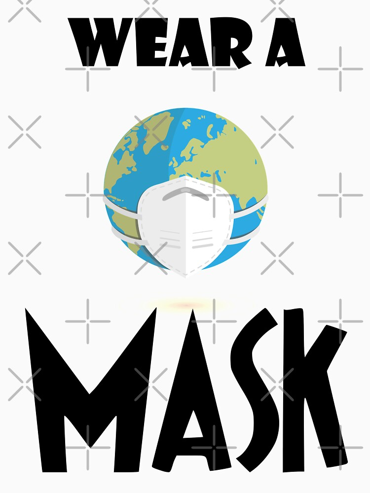 Wear a Mask by mickydee.com by MickyDeeTees