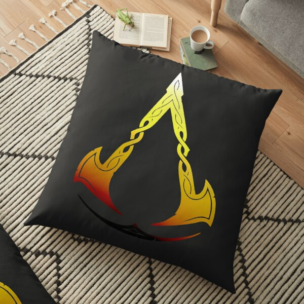 Assassin's Creed Valhalla Floor Pillow