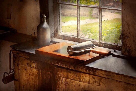 Printer - A hope and a brayer by Mike  Savad