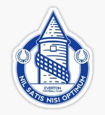 everton team logo Sticker