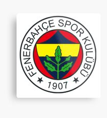 fenerbahce logo Metal Print