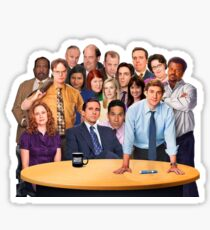 'The Office' Cast Sticker Sticker