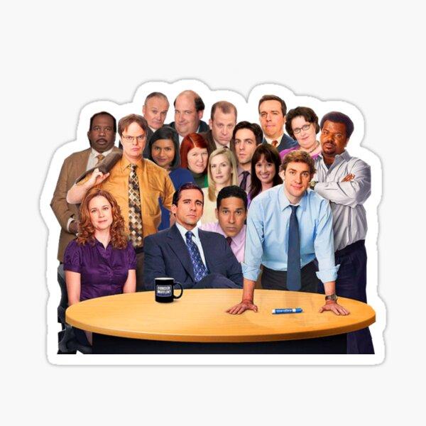 'The Office' Cast Sticker Sticker