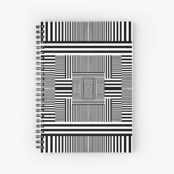 Grid Spiral Notebook