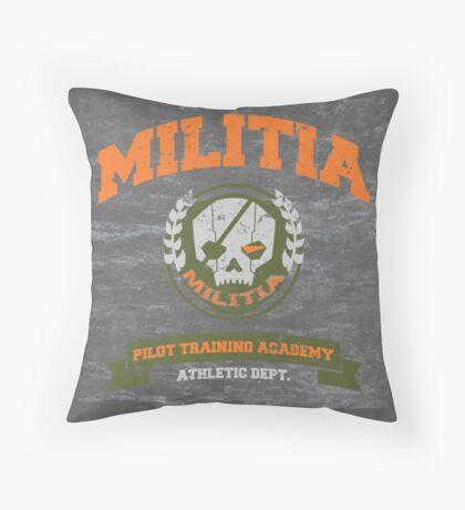 Militia Pilot Training Academy - Pillow Throw Pillow